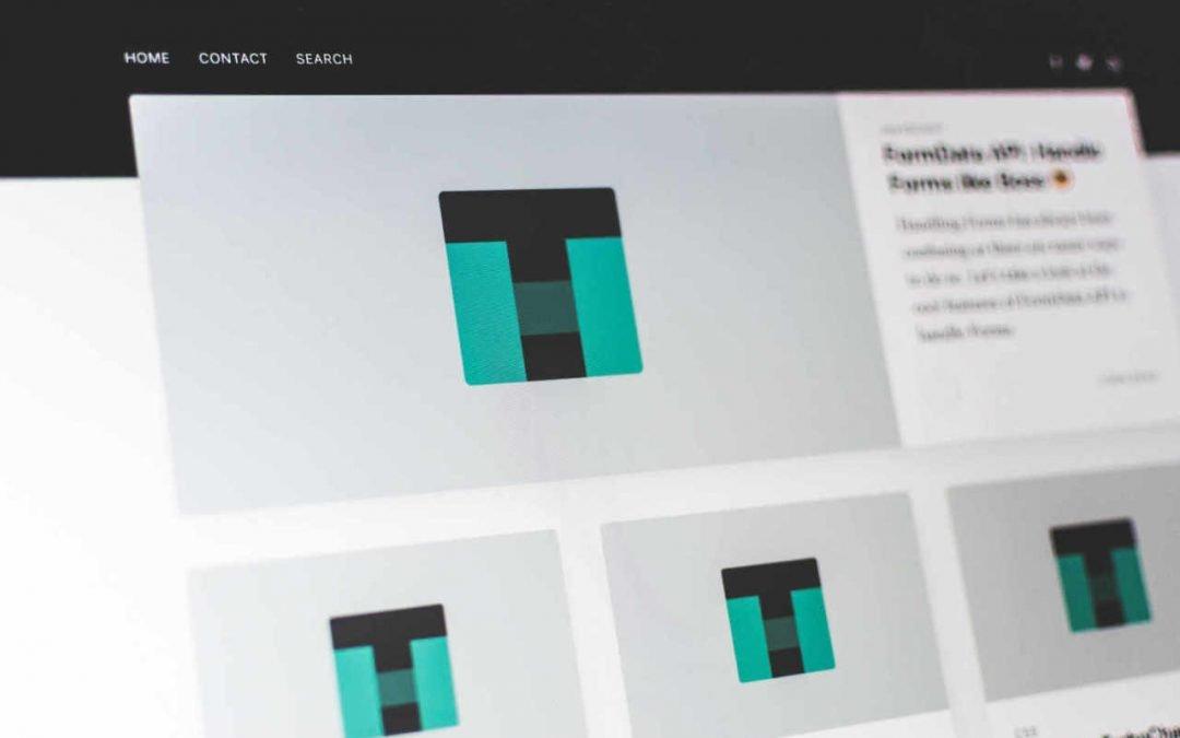 Partes de una página de inicio de tu web